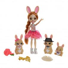 Кукольный набор Enchantimals Royal Семья кролика Бристал (GYJ08)