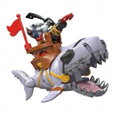 Игровой набор Imaginext Акула с мега-челюстями (DHH64/DHH66)