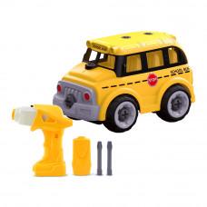 Конструктор Diy spatial creativity Школьный автобус (CJ-1379259)