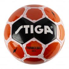 Футбольный мяч Stiga Thunder размер 3 оранжевый (84-2724-03)