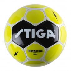 Футбольный мяч Stiga Thunder размер 4 зеленый (84-2724-04)