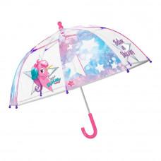 Зонтик Cool kids Единорог прозрачный (15581)
