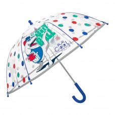 Зонтик Cool kids Ти-Рекс прозрачный (15576)