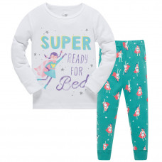 Уценка (дефекты)! Пижама Супер девочка