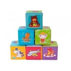 Набор мягких кубиков Canpol babies, 6 шт.