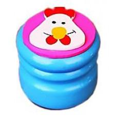 Шкатулка для молочных зубов Viga Toys Зубная фея Курочка, голубой (53911)