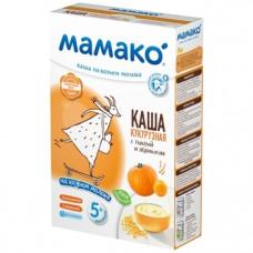 Молочная каша на козьем молоке МАМАКО Кукурузная с тыквой и абрикосом, 200 г