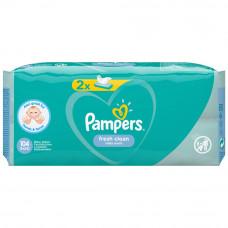 Детские влажные салфетки Pampers Fresh Clean, 2 уп.х52 шт
