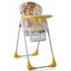 Стульчик для кормления Lorelli (Bertoni) Tutti Frutti Yellow Bears, желтый (21279)