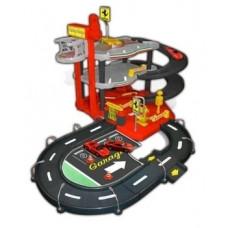 Игровой набор Bburago Гараж Ferrari, 3 уровня (18-31204)