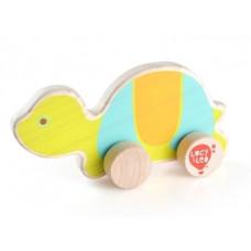 Деревянная игрушка-каталка Lucy&Leo Черепаха (LL121)