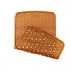 Резиновый коврик для ванны Hevea Bath Mat Natural, из натурального каучука, 55х32 см (HEVMATNAT)
