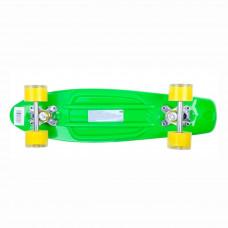 Скейт GO Travel Зелено-желтый LS-P2206GYT ТМ: GO Travel