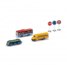 Набор Siku Транспорт и дорожные знаки 6303 ТМ: Siku