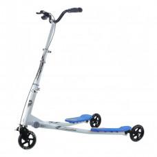 Самокат трехколесный GO Travel Speeder большой, серебристо-голубой LS-302(L)_SB ТМ: GO Travel