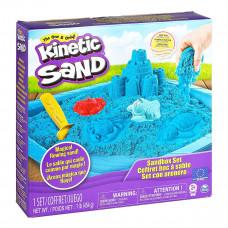 Кинетический песок Kinetic Sand Замок из песка, голубой 71402B ТМ: Kinetic Sand
