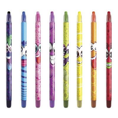 Набор ароматных карандашей Scentos Twistable Crayons, 8 шт. 41102 ТМ: Scentos