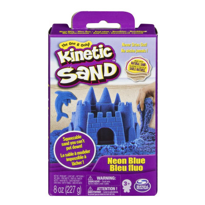 Кинетический песок Kinetic Sand Neon Голубой 227 г 71423B ТМ: Kinetic Sand
