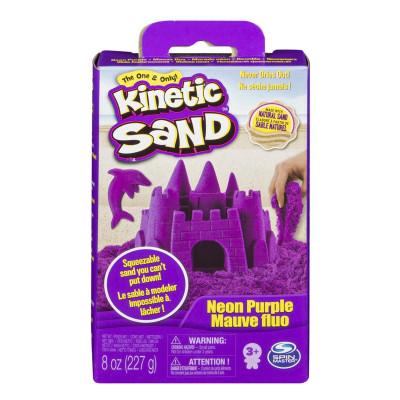 Кинетический песок Kinetic Sand Neon Фиолетовый 227 г 71423P ТМ: Kinetic Sand