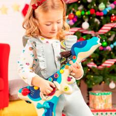 Музыкальная игрушка Battat Пес-гитарист с коротким ремешком BX1206Z ТМ: Battat