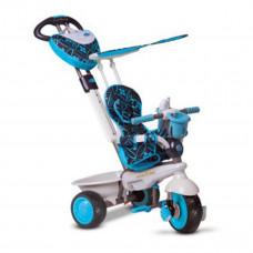 Велосипед Smart Trike Dream 4в1, голубо-черный 8000900 ТМ: Smart Trike