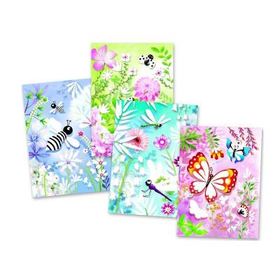 Художественный комплект Блестящие бабочки DJ09503 ТМ: Djeco
