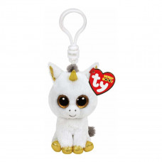 Мягкая игрушка-брелок TY Beanie Boo's Единорог Pegasus, 8 см 36640 ТМ: TY Inc
