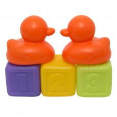 Набор игрушек для ванны Baby Team Кубики и уточки (в ассорт.) 8851 ТМ: BABY TEAM