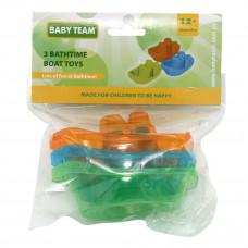 Набор игрушек Baby Team Лодочки, 3 шт. 8854 ТМ: BABY TEAM