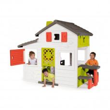 Домик для друзей Smoby с чердаком и летней кухней 810200 ТМ: Smoby