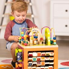 Развивающая деревянная игрушка Battat Зоо-куб BX1004X ТМ: Battat