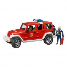 Пожарный джип Bruder Unlimited Rubicon 2528 ТМ: Bruder