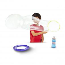 Набор мыльных пузырей Gazillion Bubbles Гигант кольцо диаметр 20 см GZ35375 ТМ: Gazillion Bubbles