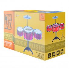 Барабанная установка Mimi Star Dram Set Jazz синяя 994-1 ТМ: Shantou Jinxing plastics ltd