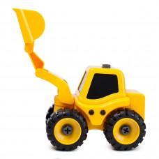 Трактор с экскаваторной установкой Kaile Toys разборная модель с отверткой KL702-1 ТМ: Kaile Toys