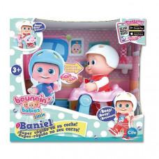 Кукла пупс Bouncin' Babies Baniel С машинкой 16 см 801001 ТМ: Bouncin Babies