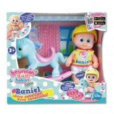 Кукла пупс Bouncin' Babies Baniel С лошадкой 16 см 801003 ТМ: Bouncin Babies