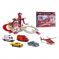 Игровой набор Majorette Creatix Спасательная станция с вертолетом 2050019 ТМ: Majorette