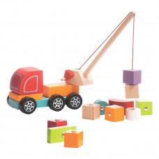 Машинка Cubika Автокран 13982 ТМ: Cubika