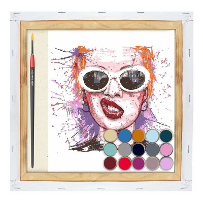 Набор Акриловая живопись по номерам Rosa Start Улыбка N00013116 ТМ: ROSA START