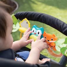 Навесные вращающиеся игрушки Infantino Путешественники 216265I ТМ: Infantino