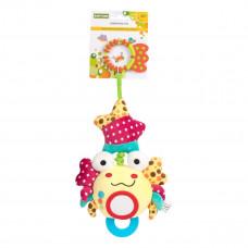 Игрушка-подвеска вибрирующая Baby Team Крабик 8542 ТМ: BABY TEAM