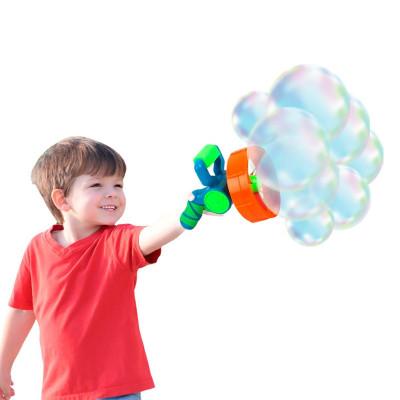 Мыльные пузыри Wanna Bubbles Бластер 2 в 1 синий BB014-1 ТМ: Wanna Bubbles