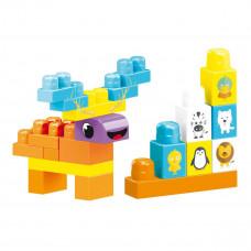 Конструктор Wader Baby Blocks 100 эл 41420 ТМ: Wader