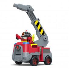 Игровой набор Robocar Poli Пожарная станция с фигуркой Рой 83409 ТМ: Robocar Poli
