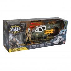 Игровой набор Chap mei Helicopter Swift Attax Cолдаты 545008 ТМ: Chap mei