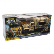 Игровой набор Chap mei Trooper Truck Cолдаты 545059 ТМ: Chap mei
