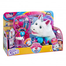 Игровой набор с единорогом Moose Полечи меня 28863 ТМ: Little live pets