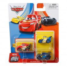 Набор из 3 металлических мини-гонщиков Mattel Cars (в ассорт) GKG01 ТМ: Cars