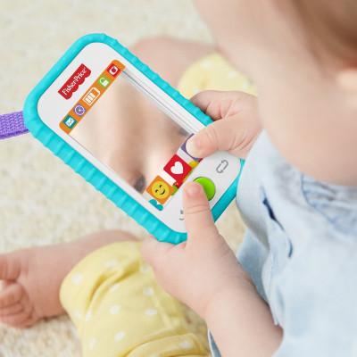 Погремушка-прорезыватель Fisher-Price Мобильный телефон GML96 ТМ: Fisher-Price